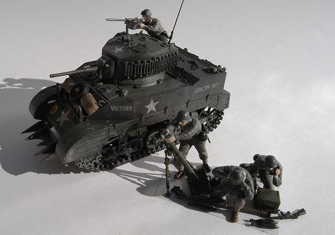 タミヤ M5ヘッジホッグ 軽戦車