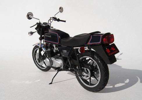 アオシマ カワサキ Z400FX